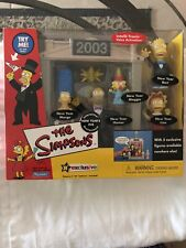 2003 The Simpsons New Year's Eve World Of Springfield R Exclusive NIB.