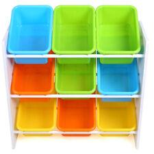 Kinderregal Bücherregal Spielzeugbox Spielzeugkiste Aufbewahrungsregal  65*27*60