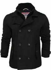 Laundry Hip Length Wool Funnel Neck Coats & Jackets for Men