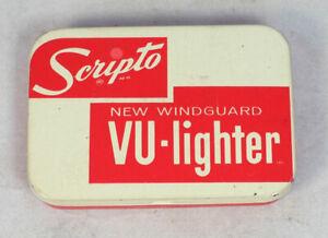 Vintage Empty Tin for Scripto Vu-Lighter