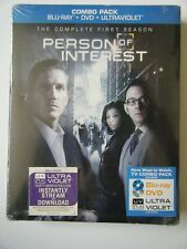 Person of Interest: The Complete First Season Blu-ray/DVD,10-Disc Set, + UV Code