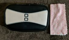 Nintendo DS Lite Pink/Black Game & Accessory Carrying Case & Cleaning Cloth