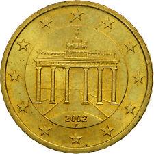 [#461324] République fédérale allemande, 50 Euro Cent, 2002, SPL, Laiton