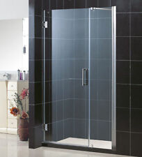 "UNIDOOR 47"" - 48"" DREAMLINE 3/8"" GLASS FRAMELESS PIVOT SHOWER DOOR CUSTOM SIZE"