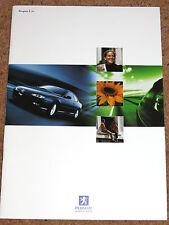 1999 PEUGEOT RANGE Brochure - inc 106 GTi, 206 GTi, 306 GTi-6, D Turbo, Roadster