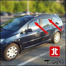 Set 4 Déflecteurs de vent pluie air teintées Peugeot 307 SW 2001-2007 wagon