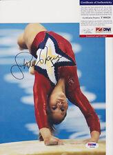 Shawn Johnson Olympics Gymnastics Signed Autograph 8x10 Photo PSA/DNA COA #11
