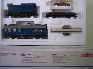 Märklin H0 28502 Diesel Locomotive Train Set Royal Corps Digital New Condition