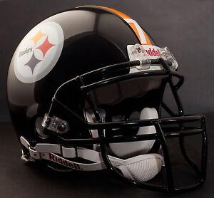 BEN ROETHLISBERGER Edition PITTSBURGH STEELERS Riddell AUTHENTIC Football Helmet