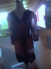 Geblümte 3/4 Arm Damenkleider mit V-Ausschnitt für Clubwear-Anlässe