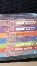 Naruto UNCUT Complete  DVD Series, All 220 Episodes Seasons 1-4 FREE SHIPPING