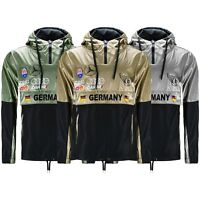 New Men Windbreaker Jacket Germany Exotic Cars Racing Hooded Long Sleeve S-3XL