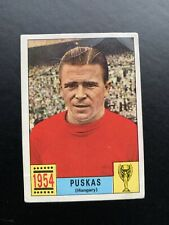 HUNGARY - PUSKAS - UNUSED PANINI MEXICO 70 WORLD CUP RED/BLACK CARD 1970 1954