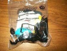 2018 McDonald's Happy Meal Toy Peanut's Snoopy Helicopter Snoopy Figure NIP #10