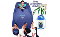 Portable Steam Sauna SPA Pop Up Function STEAMER NOT INCLUDED 11083 EST