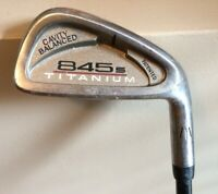 Tommy Armour 845s Titanium 6 Iron G-Force 3.3 Graphite Regular