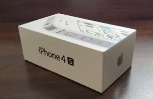 Unlocked Apple iPhone 4s -8/16/32/64GB  White iOS6.1.3 3G WIFI Smartphone