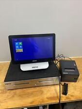 Micros Oracle 6 Pos Workstation terminal 400914-102 Printer Cash Register No Key