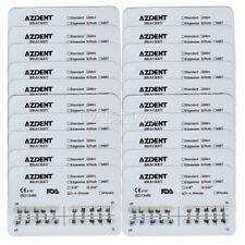 US 50 Packs Dental Orthodontics Metal Bracket Brace Mini Roth 022 Hooks 3 4 5