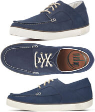 FitFlop Men's Monty (Canvas) Boating Shoe - Supernavy - Size 10 - New In Box