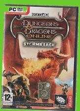 DUNGEONS & DRAGONS ITA online stormreach+DRAGONSHARD cd pc rpg ITA dvdrom