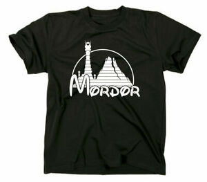Mordor Fun T Shirt Herr der Ringe Lord Of The Rings One Does Not Simply Walk In