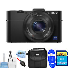 Sony Cyber-shot DSC-RX100 Mark II 20.2MP Digital Camera STARTER BUNDLE BRAND NEW