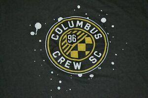 Columbus Crew SC Soccer Large Logo T Shirt XL Soft SGA Nice MLS