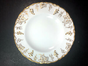 Royal Crown Derby Vine Gold Bread and Butter Plate