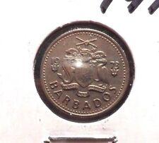 CIRCULATED 1973 10 CENT BARBADOS COIN!  (62815)