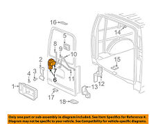 GM OEM BACK DOOR-Lock Assembly 22834664