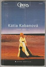 Programme Opéra Bastille Katia Kabanova Leos Janacek 2000