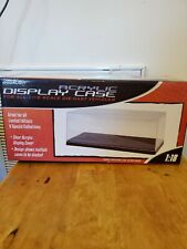 Acrylic Display Show Case with Plastic Base For 1/18 Scale Cars by Greenlight