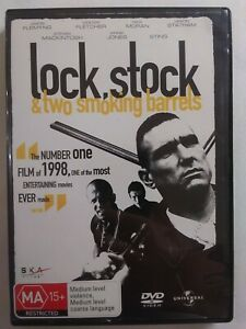 LOCK STOCK AND TWO SMOKING BARRELS 2007 DVD Action Jason Statham Vinnie Jones...