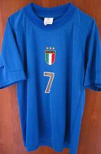 ALESSANDRO DEL PIERO youth Italy soccer jersey ITALIA size 10 World Cup FIFA