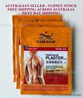 TIGER BALM PLASTER PATCH - WARM - 6 PLASTERS 10 X 14 CMS SYDNEY STOCK FAST SHIP