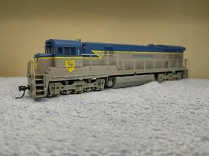Delaware & Hudson U33C diesel engine original box HO gauge Atlas Digitrax DCC
