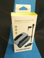 Puregear Universal Starter Accessory Kit For MicroUSB Samsung LG HTC Nokia New