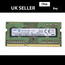 Samsung DDR3 4 GB 1Rx8 1600 MHz PC3L-12800S Laptop RAM Modulo Di Memoria