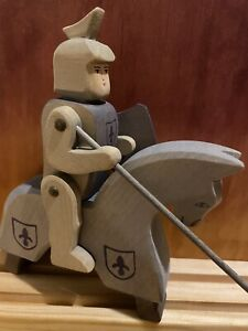 Ostheimer Blue knight with horse , Good Used Condition