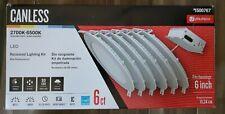 Utilitech Canless LED Recessed Lighting Kit -6ct- #1500767