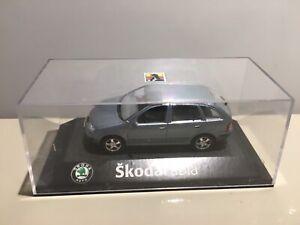 Skoda Fabia Combi Die Cast 1:43 Scale KADEN Dealership Model