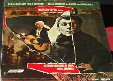 NARCISO YEPES Rodrigo Fantasia Courtier LONDON CM 9356 FFRR LP IN SHRINK