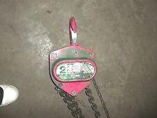 Little Mule Lmha Pw 0006 2 Ton Hoist 12.5' Lift (59)