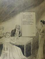 1922 TAMAÑO REAL WILLIAM BLAKE LETRAS GRANDES THOMAS DE GRIS POEMA A LONG STORY