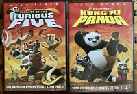 2 DVD Lot: Kung Fu Panda And Secrets of the Furious Five, NEW - Factory Sealed