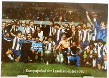 FC Porto + Europapokal der Landesmeister Winner 1987 + Fan Big Card A140 +