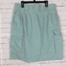 DKNY  Womens Short Skirt Pencil Straight Blue Green Sz 12