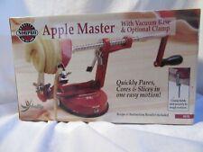 Norpro 865R Apple Master Slicer and Corer, Cast Metal, Red