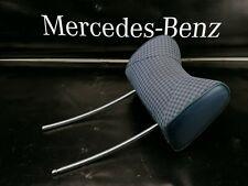 MERCEDES W123 W116 Front Seat Headrest   Blue